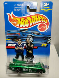 2000 Hot Wheels } Double Vision, And 2 Homies + Free Million Dollar Bill
