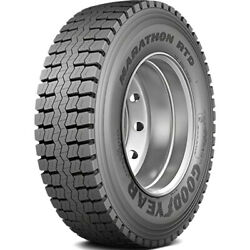 4 Tires Goodyear Marathon Rtd 11r22.5 Load H 16 Ply Drive Commercial