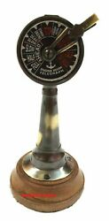 Nautical Ship Engine Room Telegraph Brass Vintage Antique Marine Table Top Gift