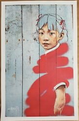 Ernest Zacharevic - Different Strokes - Rare Mint Print Banksy Style