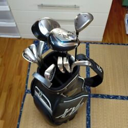 Dunlop Xxio Menand039s Golf Club Set And Bag Set 12-piece From Japan Used Golf