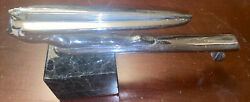 1939 Desoto Nude Goddess Hood Ornament Streamer Rare Flying With Granite Stand