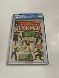 Tales Of Suspense 57 Cgc 5.0 First Appearance Of Hawkeye - New Show Incoming