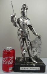 Silver 925 Figure Of A Knight 1900's