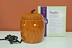 SCENTSY Pumpkin Harvest Warmer Retired Discontinued Fall Autumn New