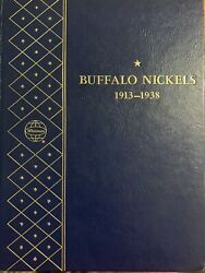 Us Coins Buffalo Nickels 1913-38 Complete Set Over-date No 3-leg 66 Coins