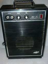 Vintage Teisco Checkmate Cm-10 Guitar Amp Solid State Amplifier Plastic