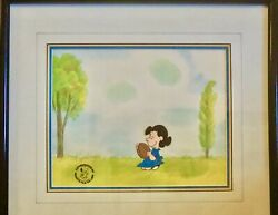 Animation Production Cel, Peanuts, It's Magic Charlie Brown, Lucy And Football