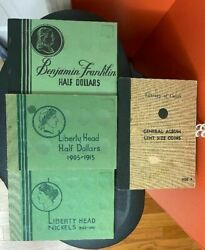 4 Us Coin Collector Albums 2 Wayte Raymond1 Meghrig 1 Coin/currency Institute