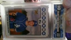 2008 Topps Update And Highlights Clayton Kershaw Rookie Uh240 Gmg 10 Gem Mint
