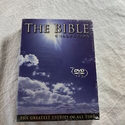 The Bible Collection The Greatest Stories Of All Time 7 Dvd Set Sealed