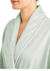 Thales Women's Jersey Spandex Robe Bath And Spa's Signature Luxurious Color Green