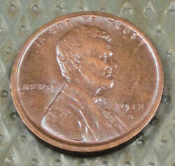1918-s Lincoln Cent Uncirculated