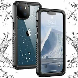 Compatible With Iphone 13 Case Waterproof Built In Screen Protector Full Body Ru