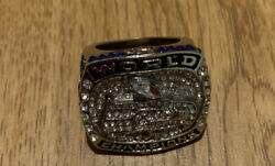 Seattle Seahawks 2013 Super Bowl Champions Replica Ring Russell Wilson Silver