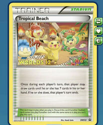 DIGITAL Tropical Beach for Pokemon TCGO online with quick delivery $62.00