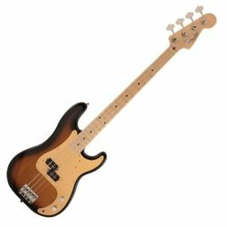 167836 Fender Made In Japan Heritage 50s Precision Bass Mn 2ts Electric Base