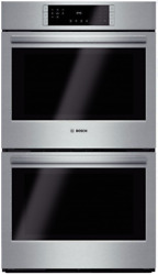 Bosch Hbl8651uc 800 Series 30 Inch Double Electric Wall Oven Stainless Steel