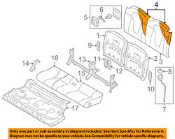 Audi Oem 08-15 Tt Quattro Rear Seat-seat Cover-top Back Right 8j8885806awue