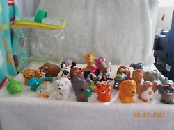 LITTLE PEOPLE A to Z ZOO ANIMALS COMPLETE SET WITH BAG