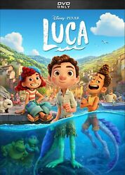 Luca DVD Family Animation Brand New and Free Shipping