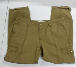 Eddie Bauer Rip Stop Cargo Pants Womenand039s Size 14p 36x28