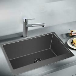 3321 Inch Farmhouse Kitchen Sink Apron Front Stainless Steel Deep Single Bowl