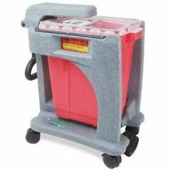 Bd Recykleen Foot Operated 9 Gal Sharps Collector Model 305091