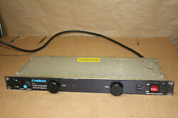 Furman Pl-8c Power Conditioner And Light Module - Used