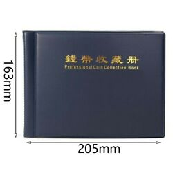Collection Storage Money Penny Album Book 240 Holders Pocket Case Coin Coins