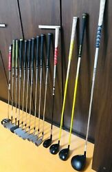 Callaway Golf Club Full Set With Caddy Bag Used Xr16 14-piece Set From Japan