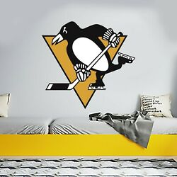 Pittsburgh Penguins Logo Hockey Team Removable Wall Decal