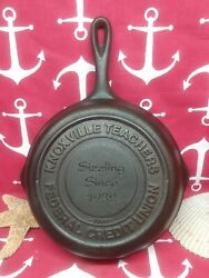 5 8 1/4 Lodge Cast Iron Skillet Knoxville Teachers Federal Credit Union 1998