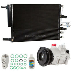 For Ram 1500 2018 A/c Kit W/ Ac Compressor Condenser And Drier