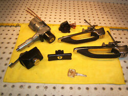 Mercedes Late 240d W123 Doors /glove Box/ Trunk Lid / Ignition Oem 1 Set And 1 Key