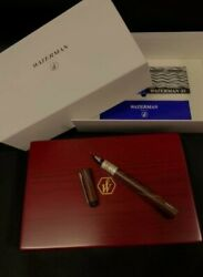 Waterman Limited Edition Serenite Collection Wood Fountain Pen With Box
