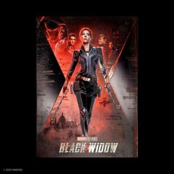 Andnbspdisplate Limited Edition Black Widow Marvel Studio - Europe Only