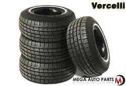 4 Vercelli Classic 787 225/75r15 102s White Side Wall All Season Tires