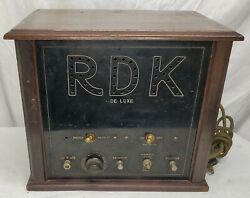 Rdk Corp. - Rdk Deluxe - Quack Medical Device - Tested -parts Or Repair - Read