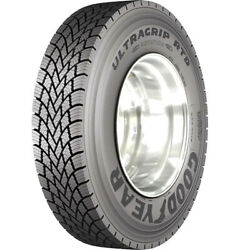 4 Tires Goodyear Ultra Grip Rtd 11r22.5 Load H 16 Ply Drive Commercial