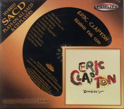 Eric Clapton - Behind The Sun Audio Fidelity Sacd Remastered Limited Edition