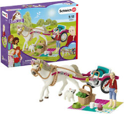 Schleich Carriage Ride With Picnic [new Toy] Figure
