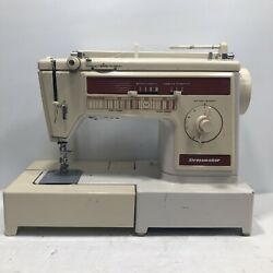 Singer Dressmaker Model 300z Heavy Duty Sewing Machine With Foot Pedal - Tested