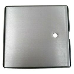 Pit Pal 10h X 10w Gray Square Access Door Seal