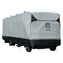 Skyshield Black/gray/white Class A Motorhome Trailer Cover Up To 33and039