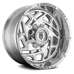 American Truxx At1904 Cosmos Wheels 20x12 -44 8x170 Polished Rims Set Of 4