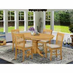 5-pc Table And Chair Set - Dining Table And 4 Dinette Chairs