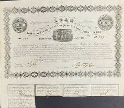 1000 Confederate States Coupon Bond Andndash Criswell 81 Ball 47