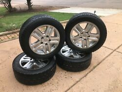 Toyota Tundra Oem 20 Wheels And Pathfinder All Terrain Tires 275/55r20 117t