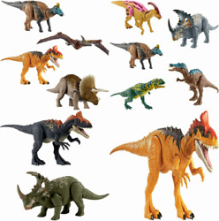 Jurassic World Sound Strike Triceratops Figure With And Chomping Multi